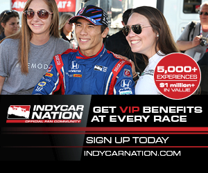 Get VIP Benefits at Every Race with INDYCAR Nation