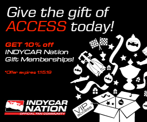 Give the gift of ACCESS today! Get 10% off an INDYCAR Nation Gift Membership!