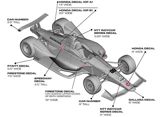 Branding - Honda - Speedway