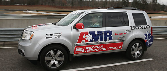 AMR INDYCAR Safety Team Response Vehicle