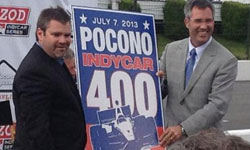 Pocono - Randy Bernard and Brandon Igdalsky