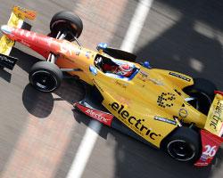 Carlos Munoz tops Practice 6 at IMS