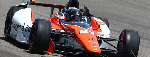 Katherine Legge on track at IMS