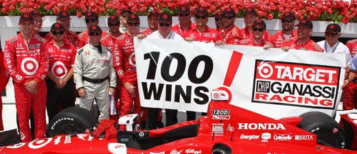 Target 100 wins