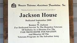 Jackson House Sign