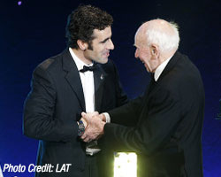 Dario Franchitti at Autosport Awards