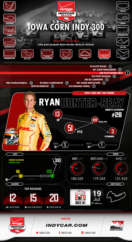 Iowa Race Infographic