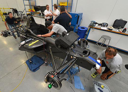Dallara IL-15 Build