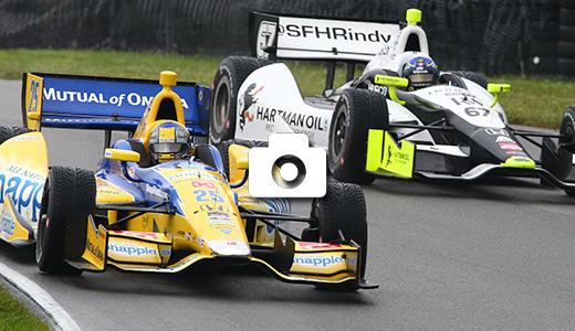 Marco Andretti and Josef Newgarden