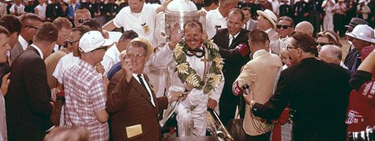 A.J. Foyt wins 1964 Indy 500