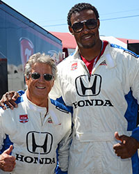 Mario Andretti and Willie McGinnis