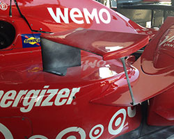 Chevrolet Singlet Wing on Sidepod