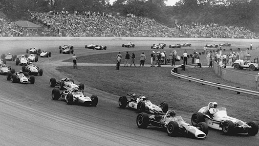 A.J. Foyt wins in Milwaukee in 1965