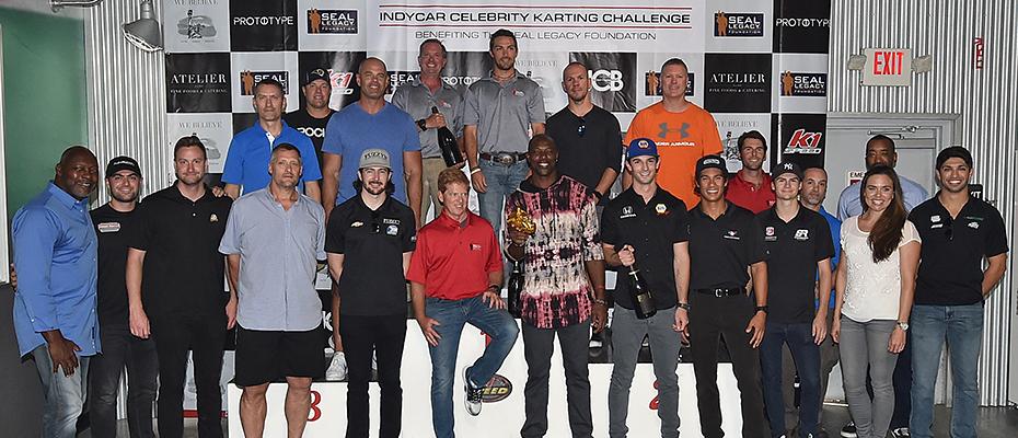 SEAL Legacy Celebrity Karting Challenge