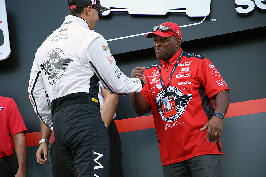 Graham Rahal and Archie Griffin