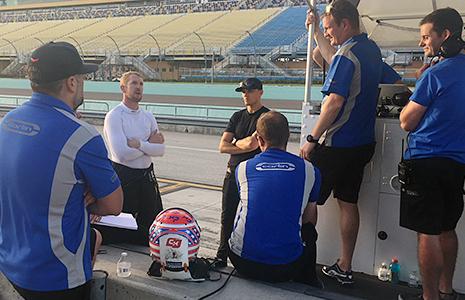 Charlie Kimball, Max Chilton, and Carlin Racing