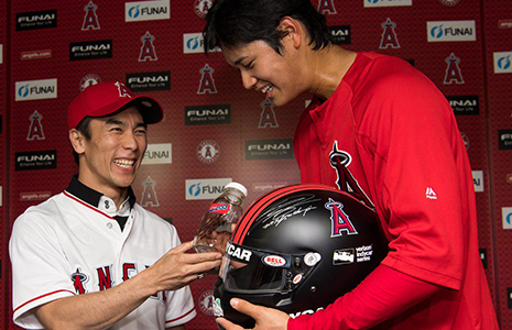 Takuma Sato and Shoehi Ohtani