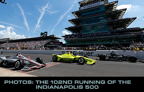 The 102nd Indianapolis 500