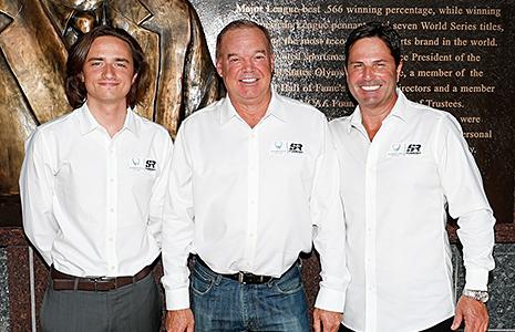 George Steinbrenner IV, Al Unser Jr. and Mike Harding