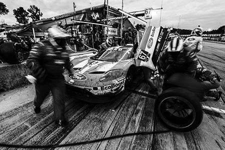 Ford GT makes a pit stop at Petit Le Mans