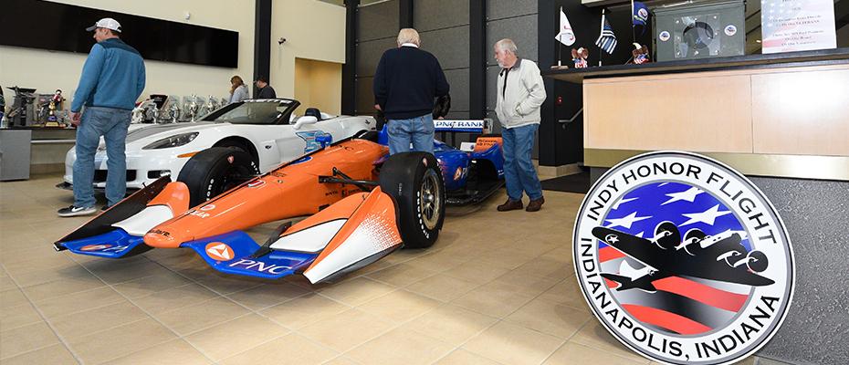 Indy Honor Flight at Chip Ganassi Racing