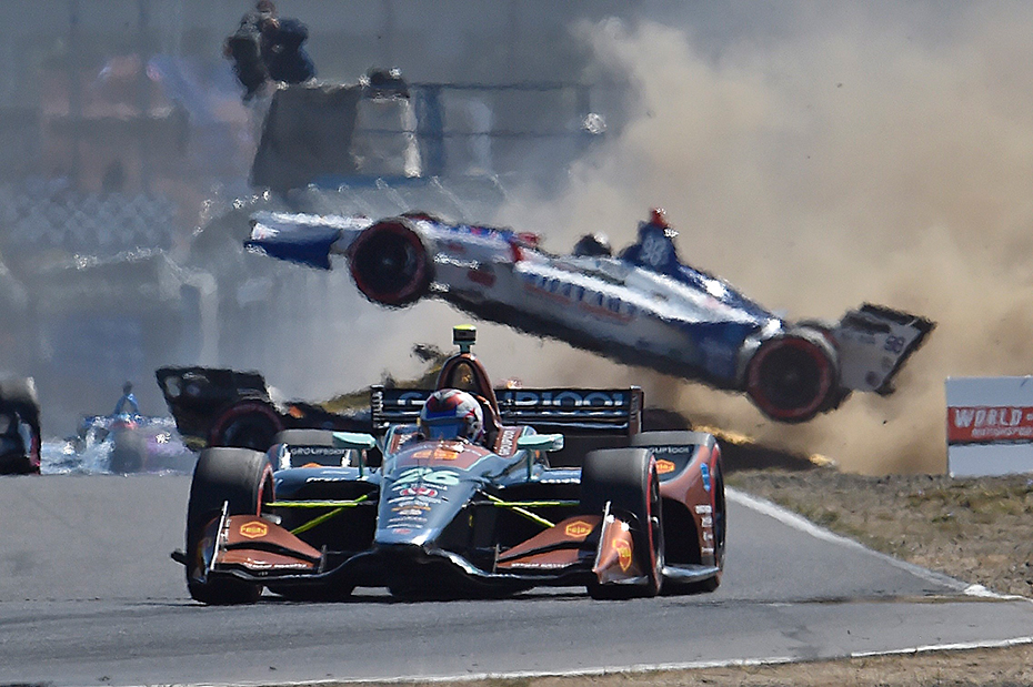 Marco Andretti and Zach Veach