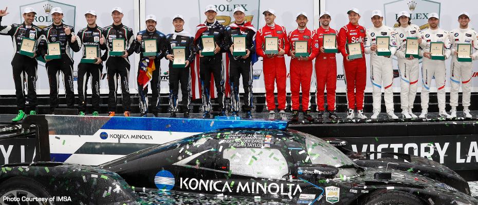 2019 Rolex 24 at Daytona Winners