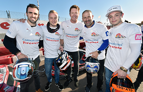 Drivers at Kart4Kids