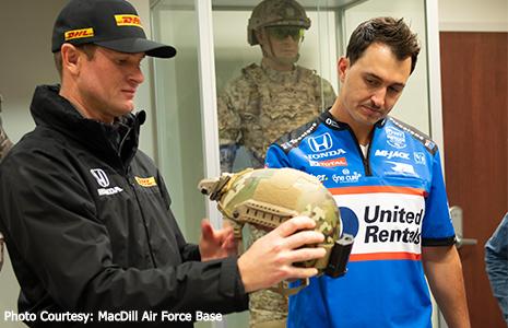 MacDill AFB Ryan Hunter-Reay Graham Rahal