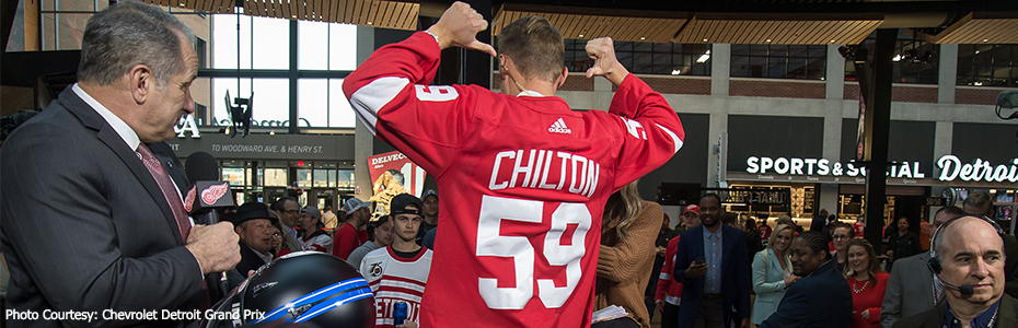 Max Chilton 59 Red Wings jersey