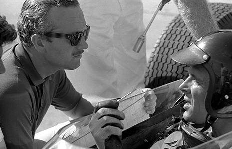 Colin Chapman and Dan Gurney