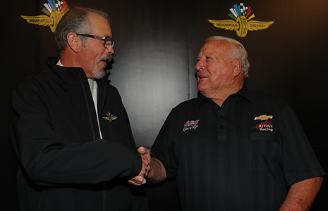 Bud Tucker and A.J. Foyt