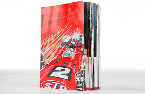 2019 Indy 500 program cover