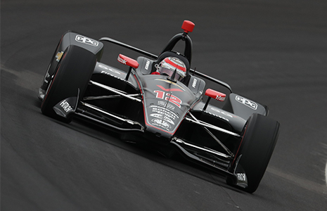 Will Power on track IMS open test
