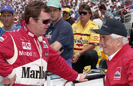 Al Unser Jr. and Roger Penske 1994