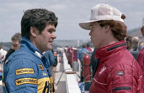 Al Unser and Al Unser Jr. 1983 Indy 500