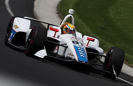 Ben Hanley Indy 500 practice