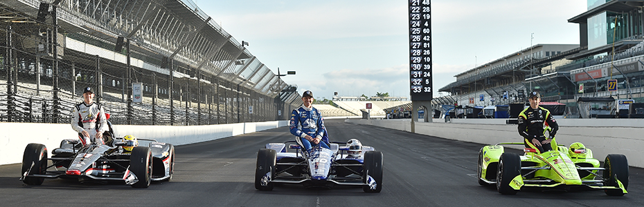 Indy 500 front row photo