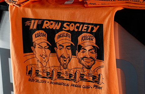11th Row Society t-shirt