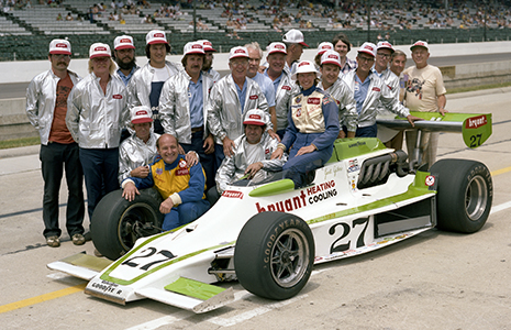 Janet Guthrie 1977 Indy 500 qualifying photo