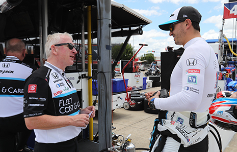 Allen McDonald and Graham Rahal