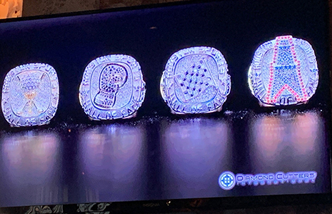 Houston Sports Hall of Fame rings
