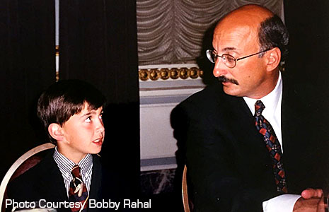 Bobby Rahal and Graham Rahal