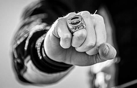 Josef Newgarden's 2019 championship ring