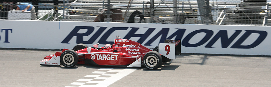 Scott Dixon at Richmond Raceway