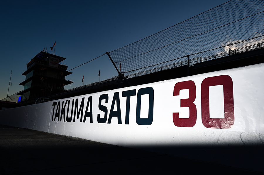Sato Pit Road at Indy