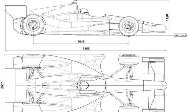 Designing 2013 aero kit regulations