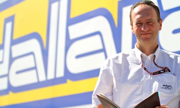 Andrea Toso from Dallara
