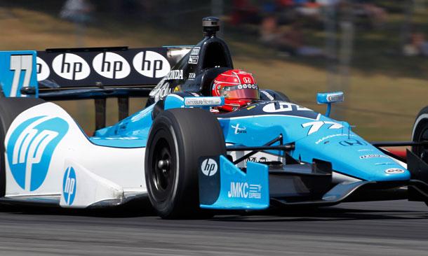 Simon Pagenaud at Mid-Ohio Sports Car Course
