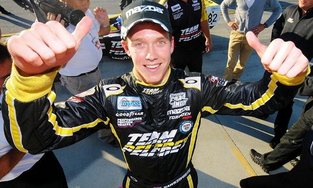 Jack Hawksworth wins Star Mazda Championship